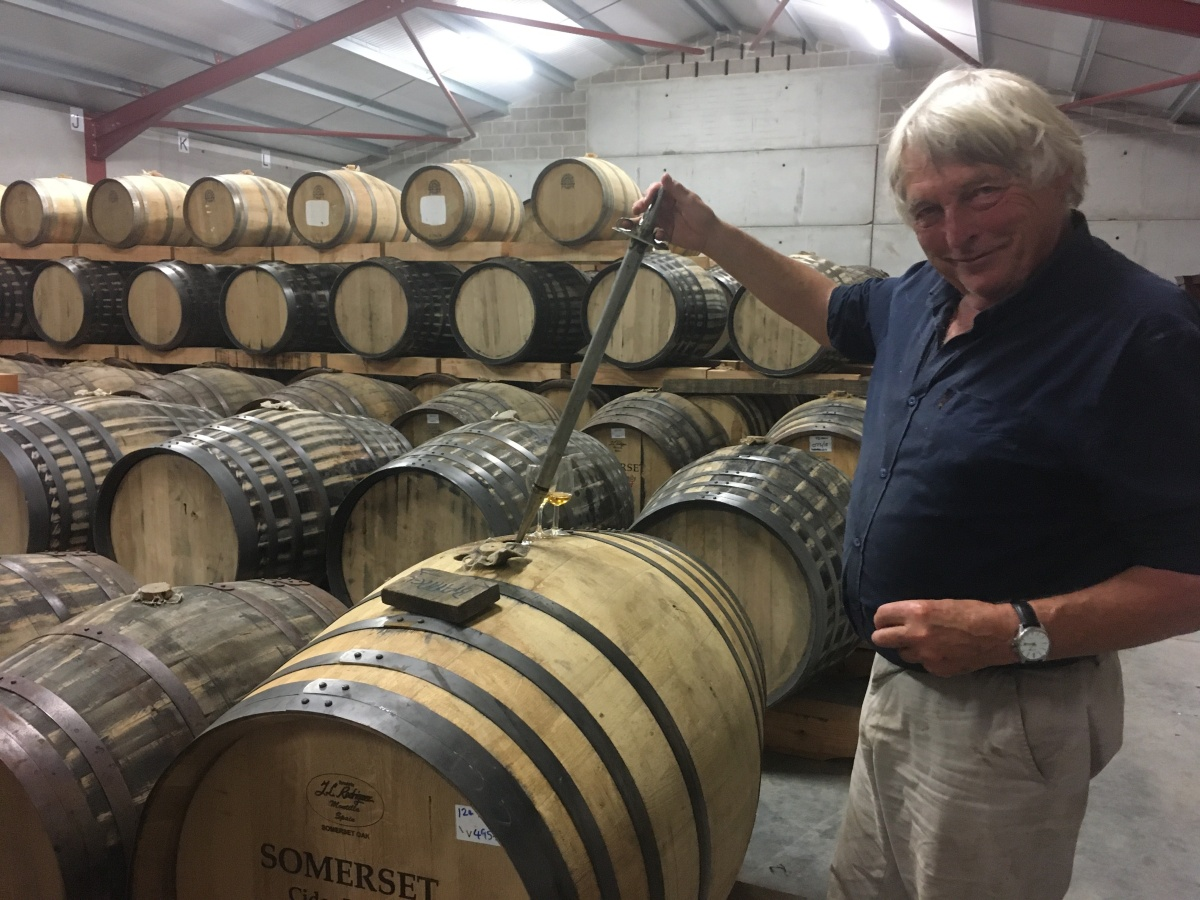 Somerset Cider Brandy: Investing for the Future